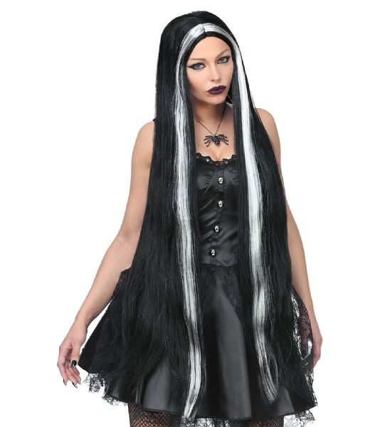 EXTRA LONG WITCH WIG Accessory Wig Halloween Witches Fancy Dress